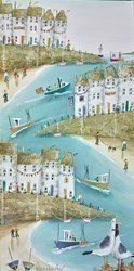 Lost Together by Rebecca Lardner -  sized 12x24 inches. Available from Whitewall Galleries